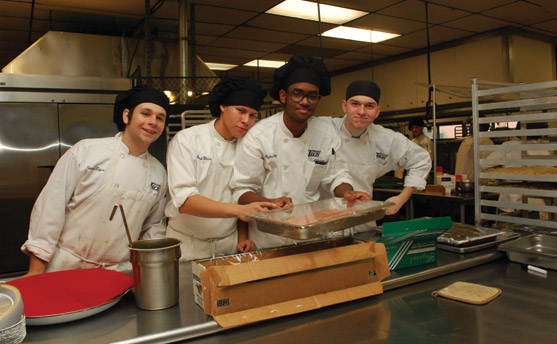 Wilson Tech students in Culinary Arts